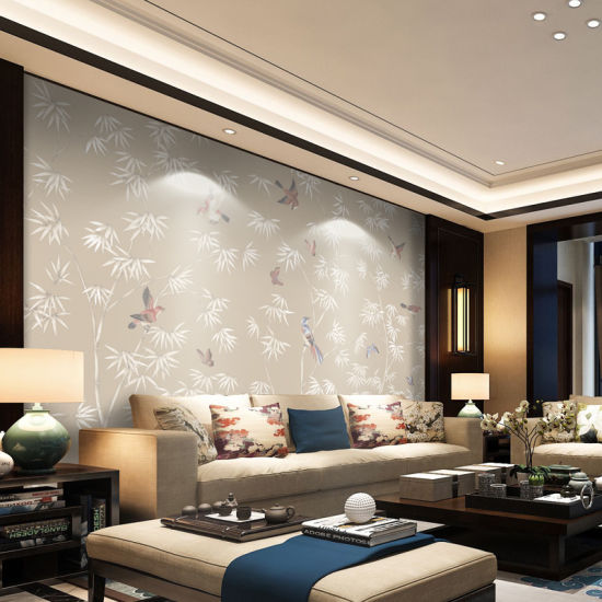 China New Design Living Room Decoration Background Wall China