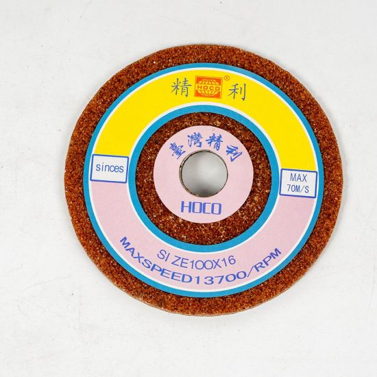 Aluminum Oxide Vitrified Abrasive Roll Grinding Wheel for Sharpening Carbide Tools