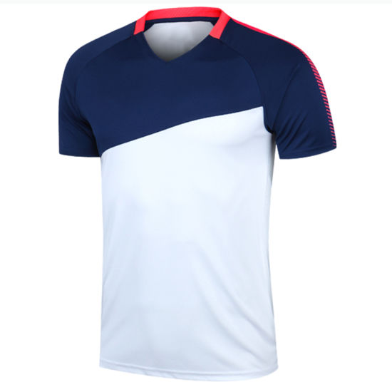 Wholesale High Quality Sports Jersey Quick Dry Uniform Soccer Shirt