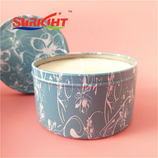 Tin Candle with Outstanding Design for Home Decor