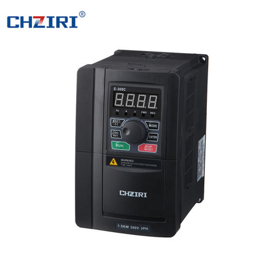 Chziri Single Phase VFD VSD Frequency Inverter AC Drive 220V Frequency Inverter with RS485 Port Zvf330-M1r5s2s