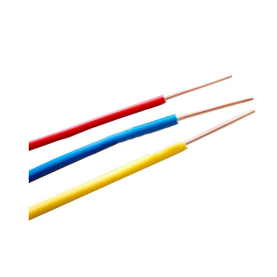 China BS6004 Standard Solid Copper Conductor PVC Insulated Wire ...