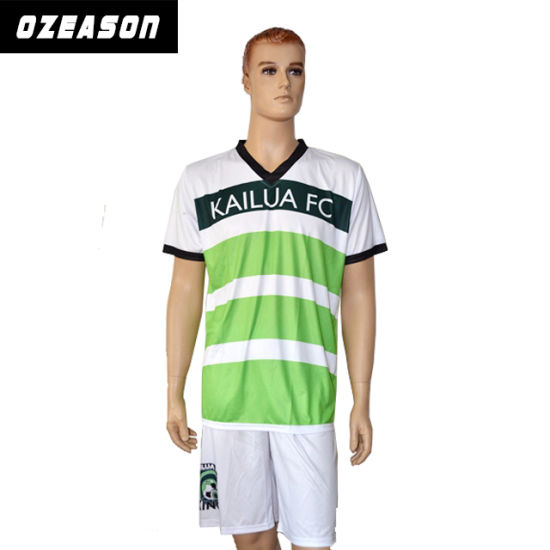 53c5e69d216 Custom Design Logo and Pattern Soccer Jersey Football Uniform Shirt and  Shorts pictures   photos