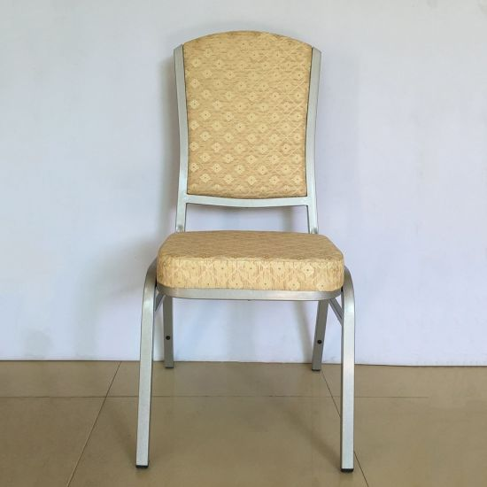 Foshan Factory Metal Banquet Furniture Stacking Used Chairs