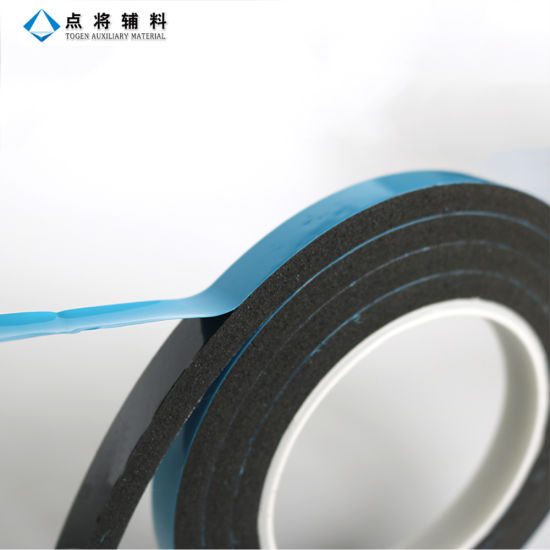 PVC/PE Strong Self Adhesive Foam Rubber Tape pictures & photos