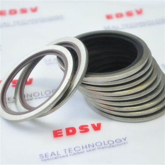 China Bonded Washer Rubber Bonded Metal Seal Washer Self Centering ...
