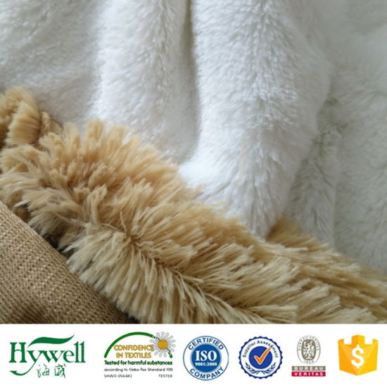 100% polyester plush fabric 6mm, 10mm, 15mm, 20mm, 45mm Pile