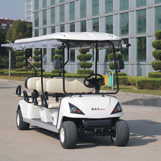 CE Approve 6 Seat Golf Cart with Different Colors (DG-C6) pictures & photos