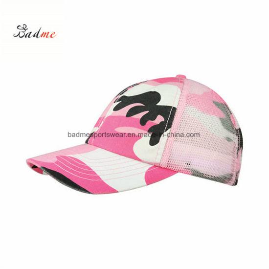 2037599635369 China Enzyme Washed Camouflage Mesh Baseball Caps - China Cap
