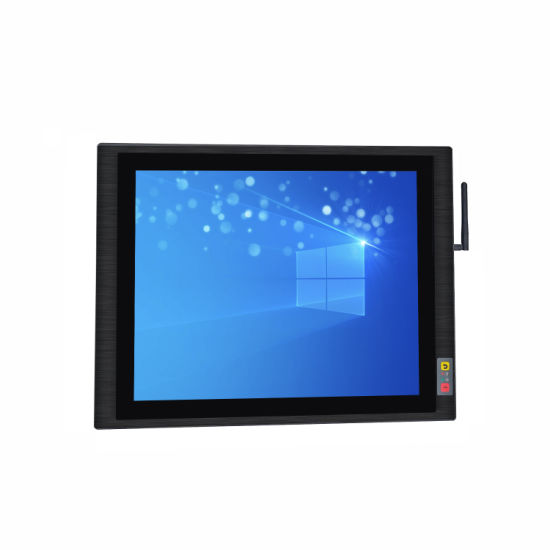17 Inch High Quality Industrial Touch Screen Panel PC with I5 4210u 2+32GB Configuration All-in-One Computer