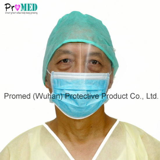 Proof Face Disposable Eyeglass Mask Eye Mask Shield Surgical With Shield Nonwoven Anti-fog Splash