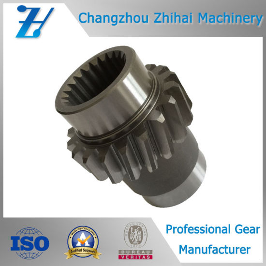 Alloy Steel Spline Gear as Transmission Parts pictures & photos