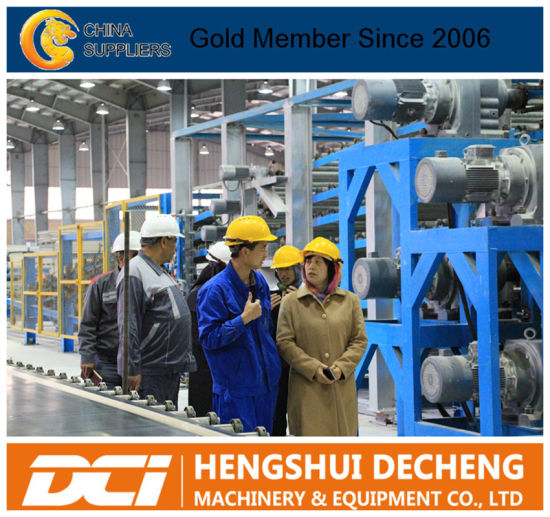 Produce plant equipment for the building materials industry