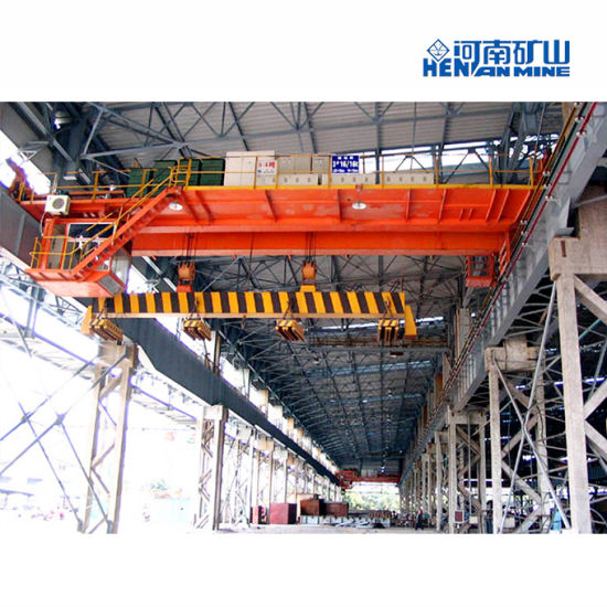 5-16 Ton Workshop QC Type Electric Magnetic Double Girder Overhead Crane