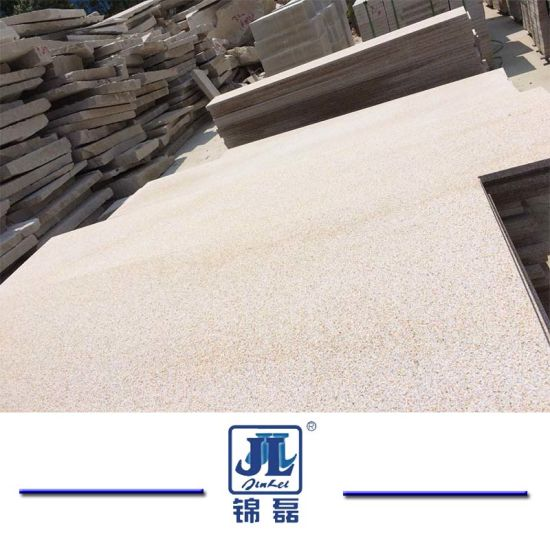Natural G682 Rusty Yellow Granite for Benchtop/Worktop/Flooring/Paving Stone/Stair Tread/Window Sill