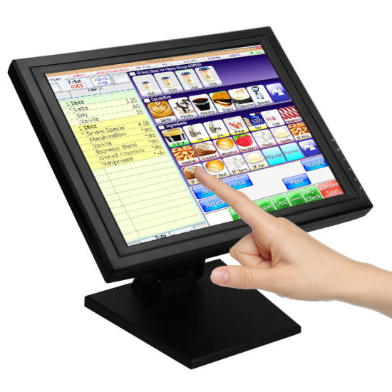 "1503m Cheap Low Cost RS232 15"" 12V LCD LED Screen Monitor Raspberry Pi 17 15 Inch POS Touch Screen Monitor"