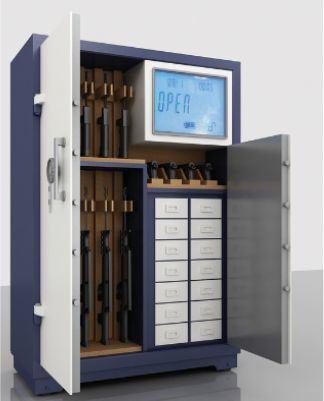 Digital Steel Locker Box Metal Gun Safe Cabinets