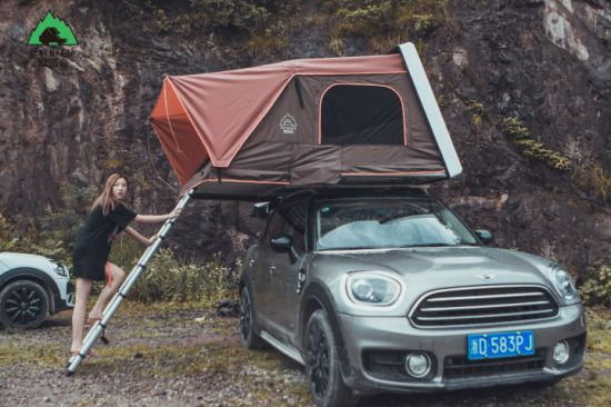 China Mpv Outdoor Car Top Camper Hard Shell Roof Top Tent China
