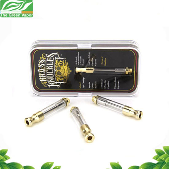 Popular Products 0.5ml 1.0ml E Cigarettes Vape Cartridges Brass Knuckles Cartridges pictures & photos