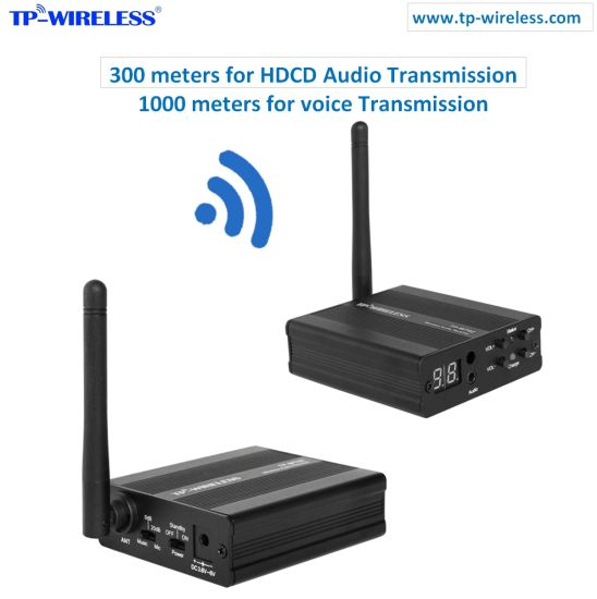 China Tp Wireless 24GHz Digital Wireless Audio Transceiver HDCD