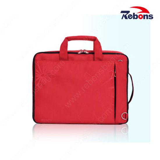 "15/"" Laptop Business Leather Bag Mens Handbag Large Capacity Anti-theft Briefcase"