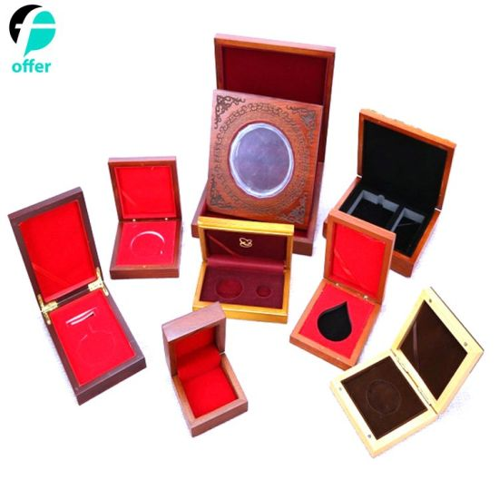 Promotion Gifts Challenge Coin Wood Display Box pictures & photos