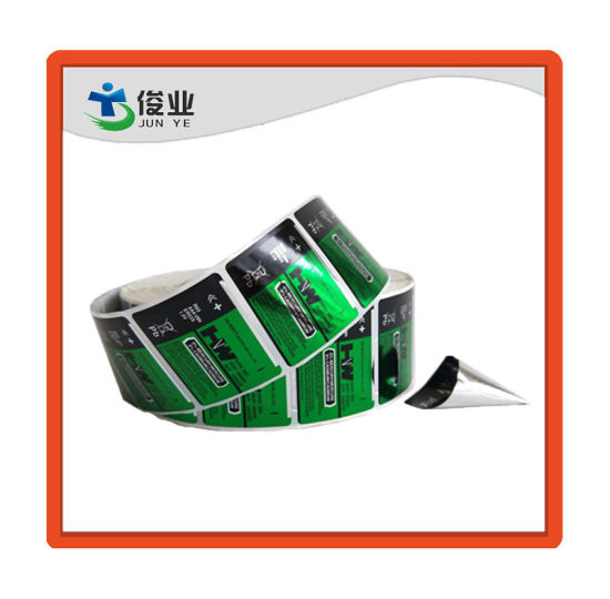 High Quality Adhesive Waterproof Cmyk Printing Label in Roll