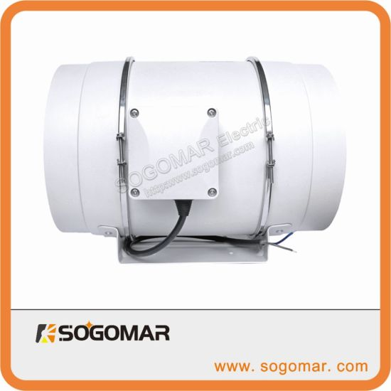 Ventilation Multi-Speed Circulation Inline Duct Pipe Exhaust Fan (SFP-200)