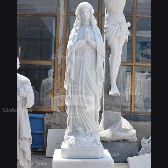 Marble Carving Religious Stone Garden Sculpture (GSS-173) pictures & photos