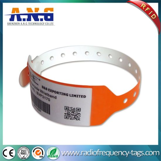 Disposable Soft Id Bracelet Nfc For Hospital
