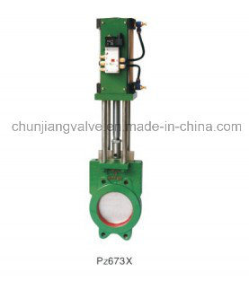 High Quality Pneumatic Parallel Slide Valve pictures & photos