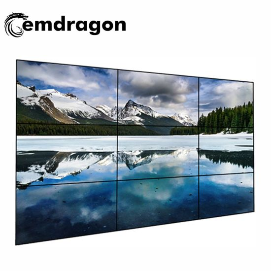 Video Wall 46 Inch All in One Display Screen Shopping Mall LCD Advertising Outdoor High Brightness Totem LED Digital Signage