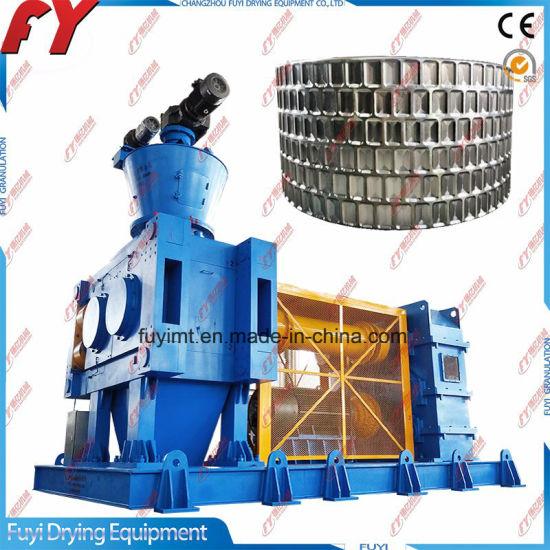 Fertilizer & chemical irregular granules roll press fertilizer pellet mill