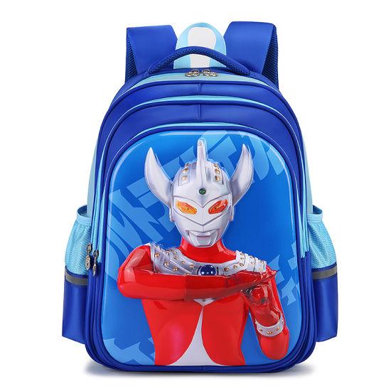 Multifunctional 3D Cartoon Design Waterproof Children School Bags for Boys Backpack Primary Schoolbag