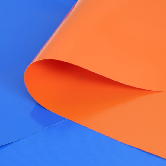Waterproof PVC Coated Tarpaulin with Different Sizes