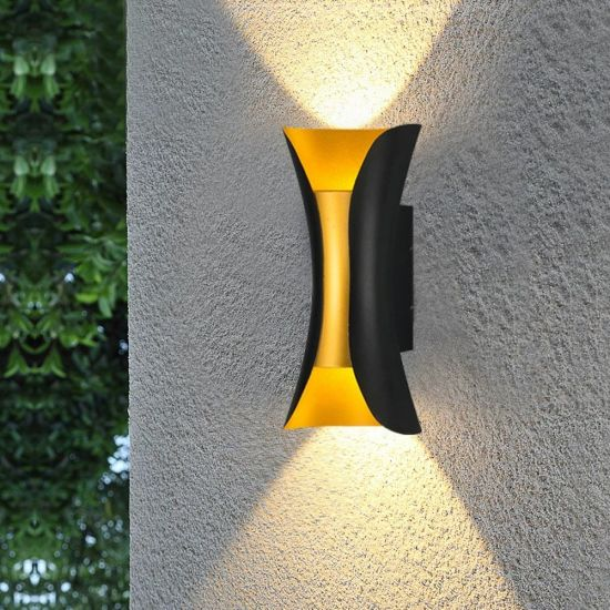 China Modern Contemporary Exterior Outside Garden Motion Sensor Black Ip65 Waterproof Led Outdoor Wall Lights China Outdoor Lighting Wall Lights