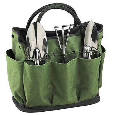 Multifunctional Portable Garden Tool, Canvas Garden Tool Bag