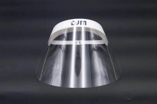 Transparent Pet Full Length Anti Fog Disposibal Protection Face Shield Mask