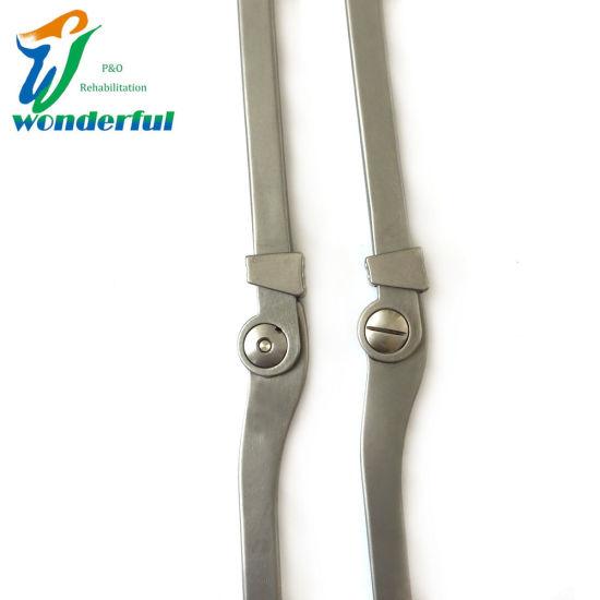 Prosthetic Orthotics Knee Hinge with Drop-Ring Lock