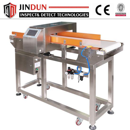 Industrial Food Processing Quality Control Conveyor Belt Metal Detectors