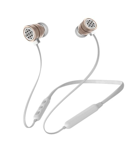 China Neckband Style In Ear Bluetooth Earphone Headphone Metal Wireless Headset For Mobile Phone Cell Phone Pc Tablet Ipad China Sport Earphone Earbud And Bluetooth Headphone Headset Price