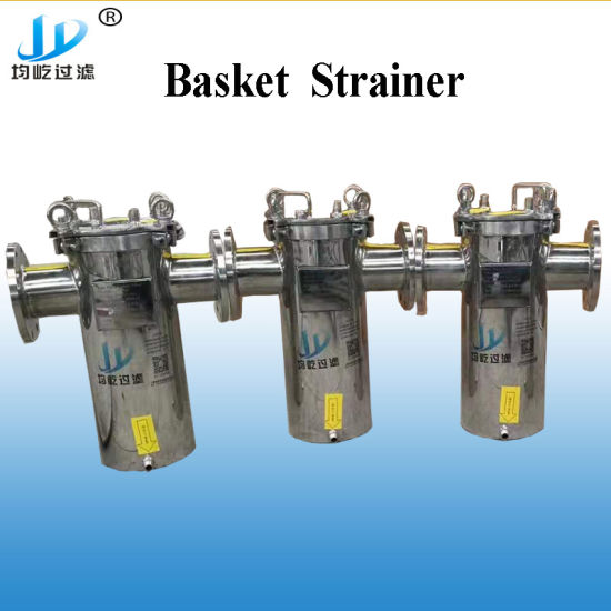 "China Supplier Liquid Filter 6"" Sea Water Filtration Basket Strainer"