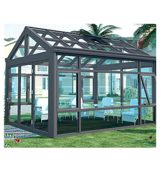 Customized Sunrooms Glass Winter Green Garden House with Aluminum Frame