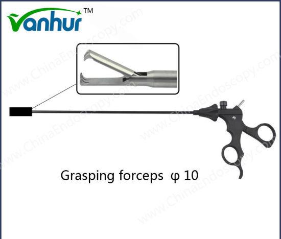 Laparoscopic Claws Grasping Forceps 10mm Distal 2+3 Teeth