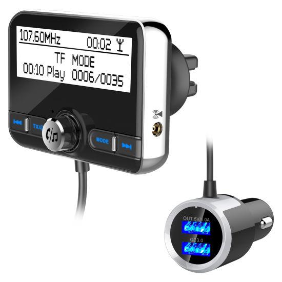 Car DAB Digital Radio Receiver FM Transmitter Converter Bluetooth w//Handsfree