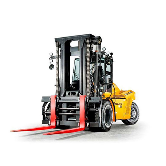10 Tons Heavy Duty Forklift Truck Crane SCP100c2 pictures & photos