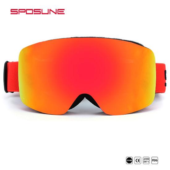13b78644c65f OTG Style Custom Logo Fast Lens Removable Anti-Fog Skiing Snowboard Ski  Goggles pictures