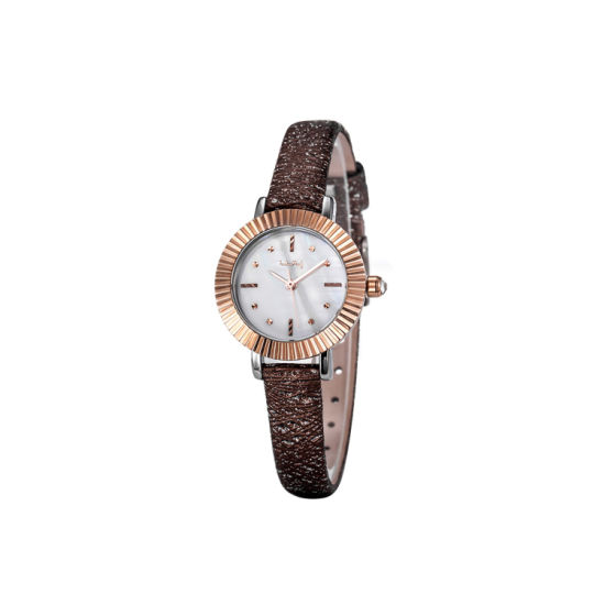 Factory Quality Woman Quartz Leather Alloy Case Gift Watches (WY-030A) pictures & photos