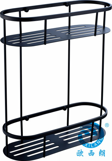 China Black Bathroom Set Shower Caddy Oxl-8938 - China Bathroom ...