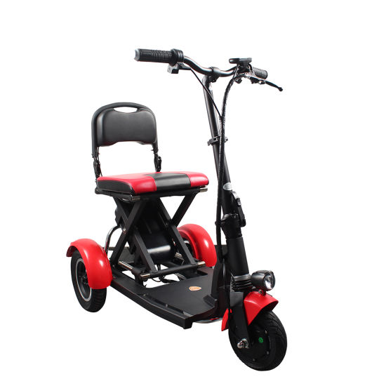 Greenpedel Wholesale Adult 3 Wheel Folding Electric Mobility Scooter